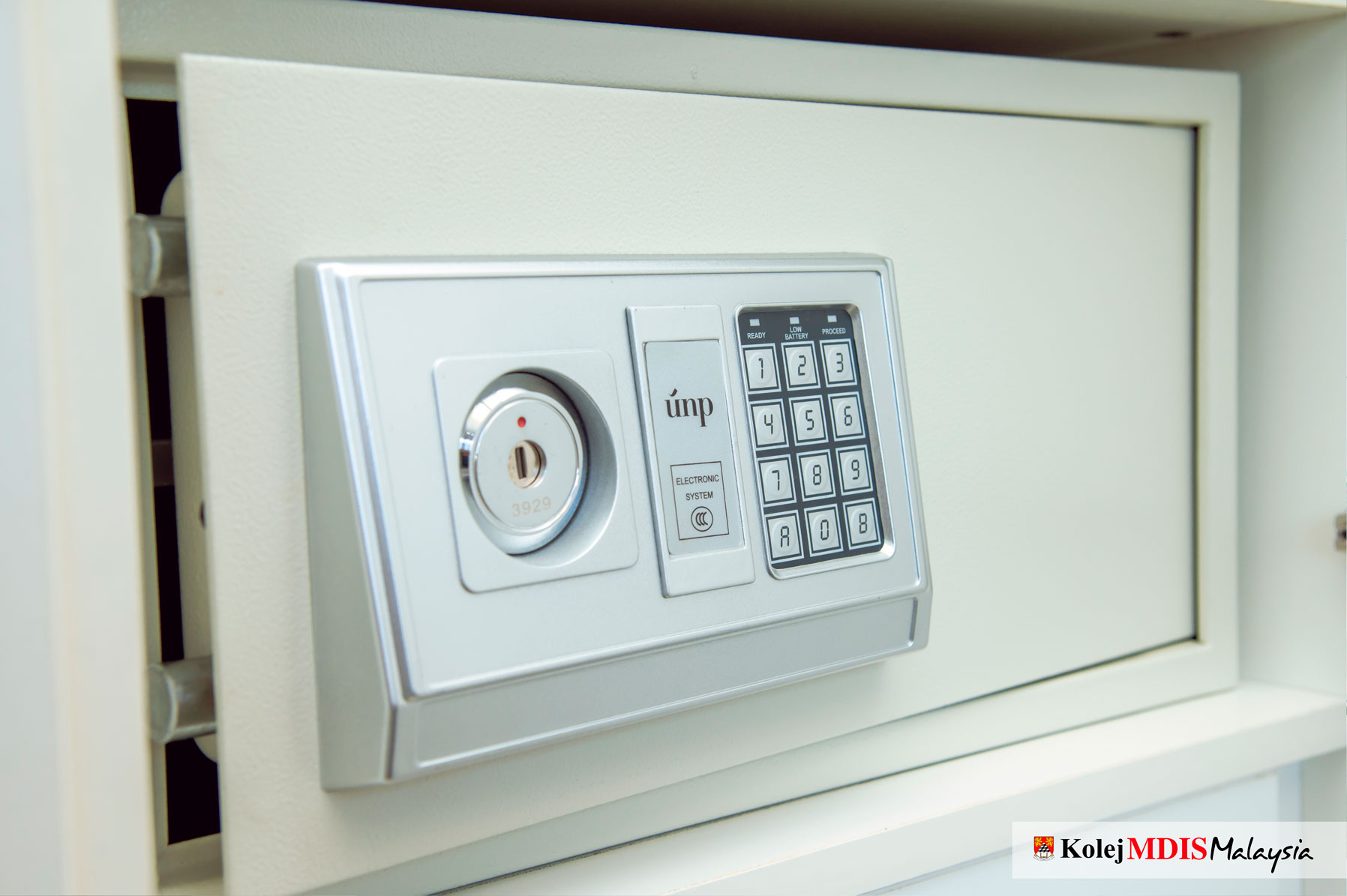 Individual Safe Deposit Box in Every Room